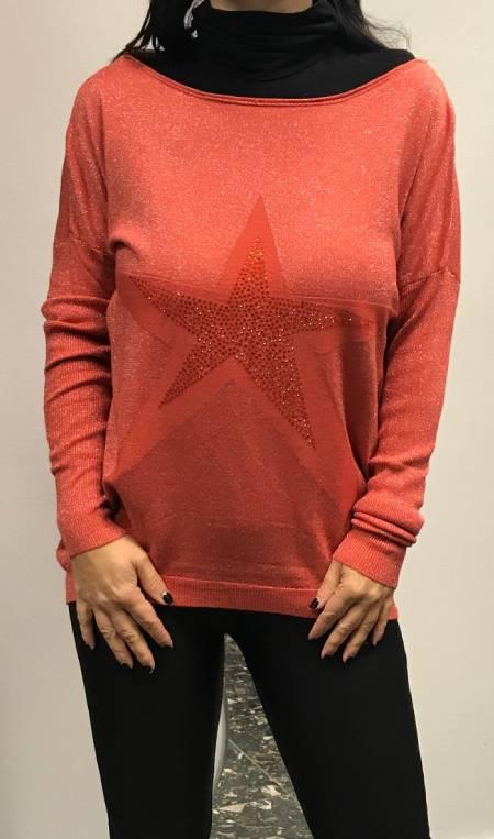Pulover z zvezdo